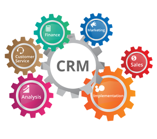 crm web application development services